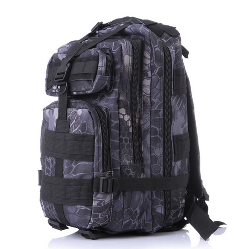 CYSHMILY Outdoor Camping Waterproof Camouflage 3P Army <strong>Backpack</strong> Hiking Tactical Military Shoulder Bag