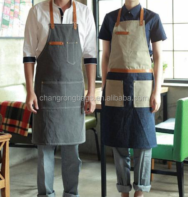 2015 Hottest Sale Denim Apron,Fashionable Canvas Leather Apron For ...