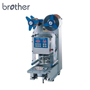 Brother Low Cost Factory Price Manual Fruit Juice Water Paper Plastic Yogurt Cup Sealer Machine Cup Sealing Machine for milk tea