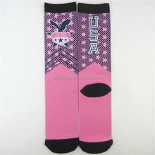 heat transfer printing logo sublimation socks