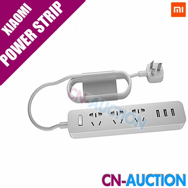 Newest 100% Original Xiaomi Power Strip Outlet Socket 3 USB Extension Socket Plug with Socket AU Standard Socket Pre-Sale