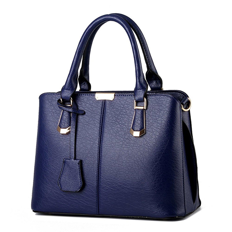 3ebeb04b94 Get Quotations · Tote Bags Handbag Top Handle Bag Casual Bag Women Large  Leather Handbag Shoulder Shopper Bags Weekend