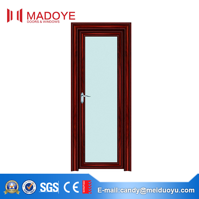 Residential Used Exterior Balcony Glass Office Entry Doors Low Price