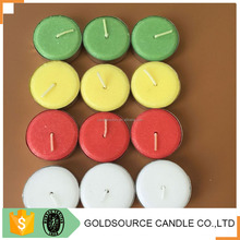 Hot sale decorative wedding party tealight aromatic candle
