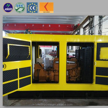 CHP containerized generator 150kva silent natural gas generator price