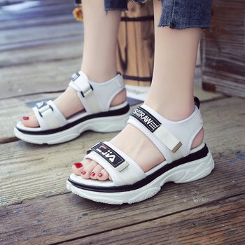 264293eaf ladies flat platform sandals summer fashion design women sandals 2018