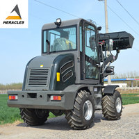 HERACLES HR800 mini tractors with front end loader,mini wheel loader