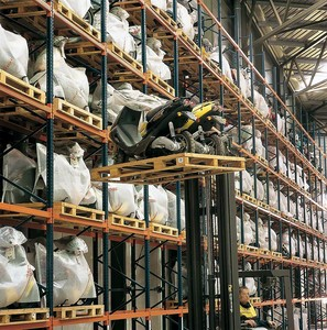 conventional metal strong storage shelving warehouse steel selective rack system