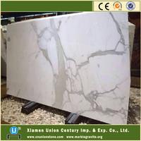Italian carrara statuario white marble slab price