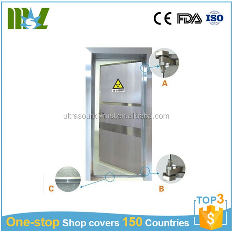 Hospital medical x-ray lead door/x-ray room door radiation protection