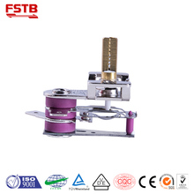 KST Adjustable bimetallic type thermostat high flat oven termostat from fstb