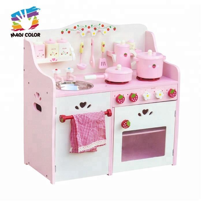 Großhandel erdbeere holz spielzeug küche set für kinder WJ279058