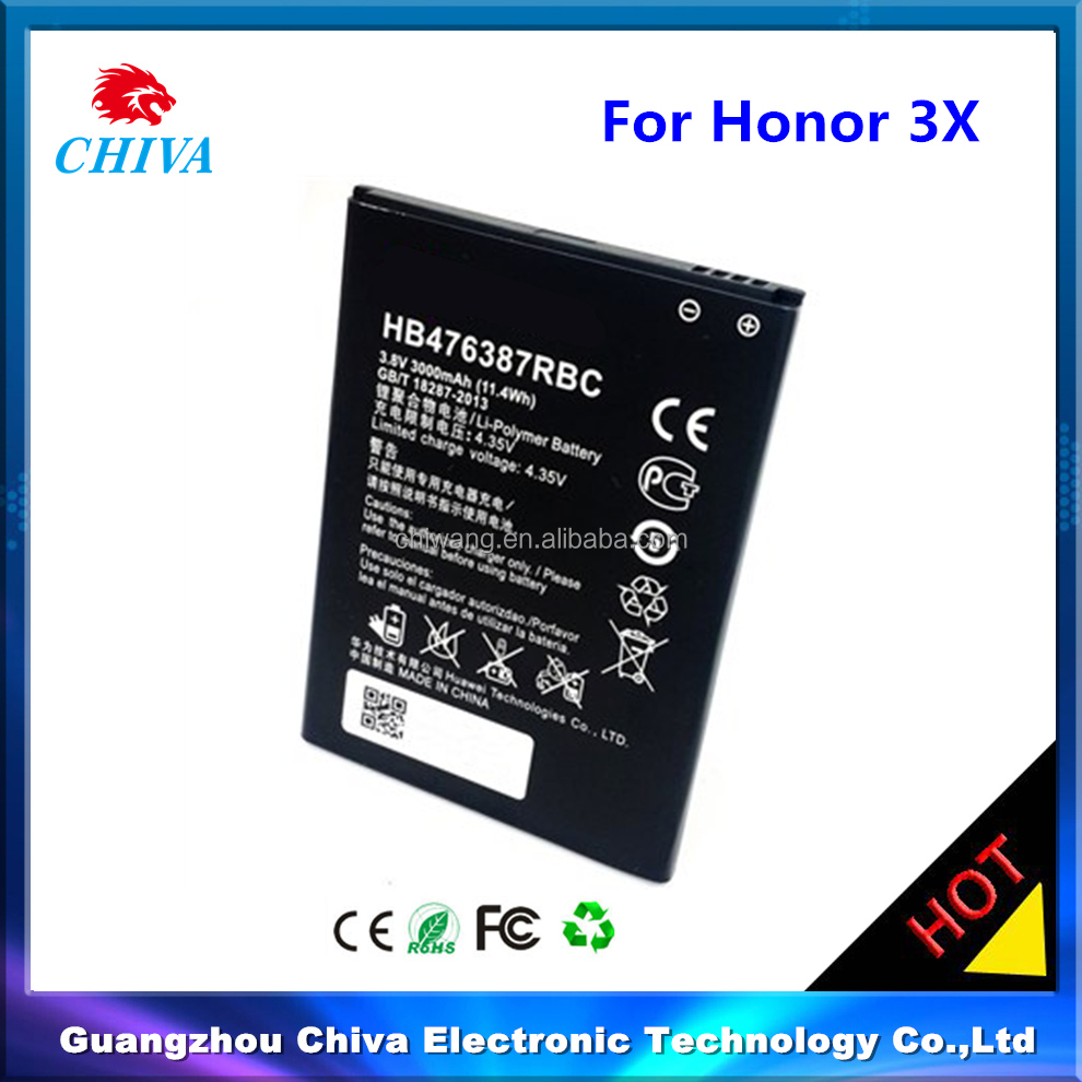 china battery manufacturer HB476387RBC honor 3x for huawei