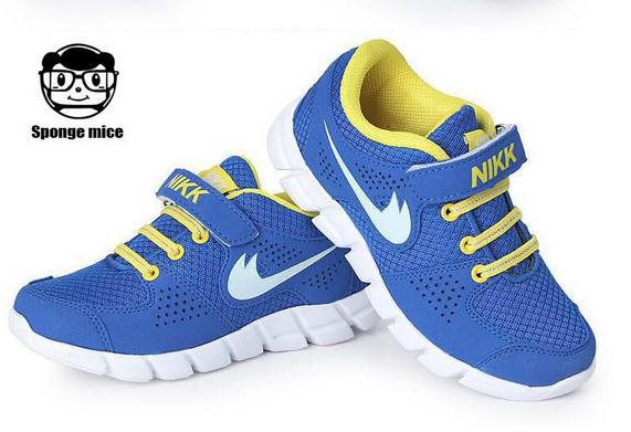 Nine color options new 2014 children's shoes for boys and girls running shoes breathable shoes free shipping size 25-37
