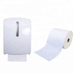 100% pure virgin wood pulp soft nice quality hand towel paper