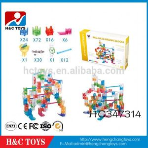 Children Building Blocks Plastic Crystal Ball Bearing Maze Game HC347314