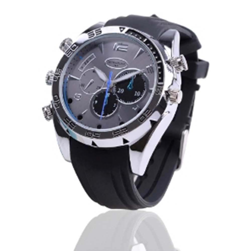 Hot Sale 8GB Night Vision Motion Detection Full HD 1080P Waterproof Video Spy DVR Hidden Watch <strong>Camera</strong>
