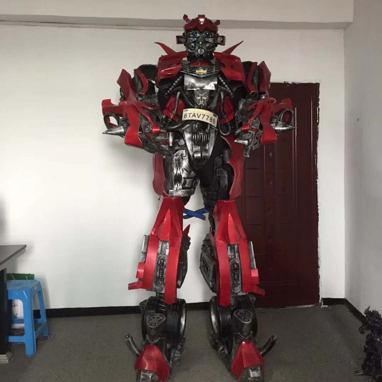 Business Promotion Led Cosplay Robot Costume For Sale Buy Robot