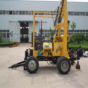 XYX-3 Trailed Deep Water Well Drilling Machine With Mud Pump