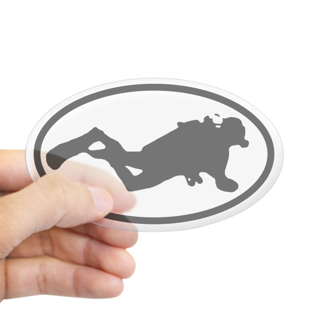 CafePress - Scuba Diver Oval Sticker - Oval Bumper Sticker, Euro Oval Car Decal