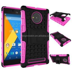 pretty nice 2732f 04dab smart waterproof kickstand phone case for micromax yu yuphoria