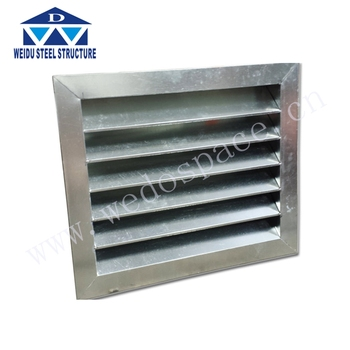 Cheap metal/white color pvc louver price for window blind