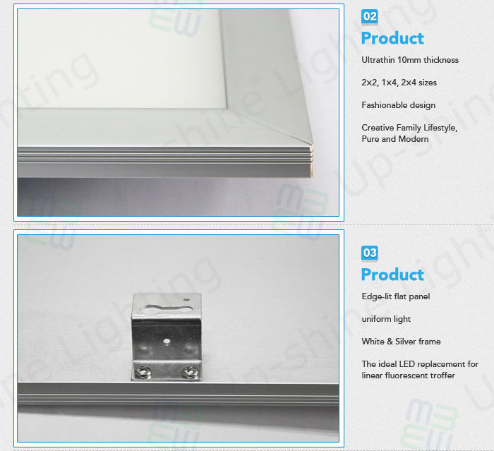 New Design Ul 2x2 Led Drop Ceiling Light Panels Surface Mounted ...