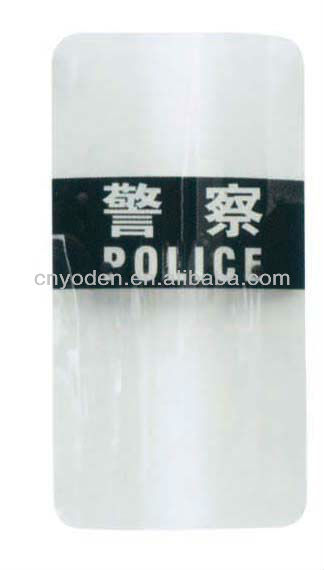 High Quantity police anti riot polycarbonate riot shield