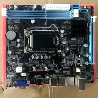 2017 Manufacturer lga 1155 socket motherboard H61 ddr3 Desktop i3 i5 i7 CPU support ddr3 1333 1666MHz memory