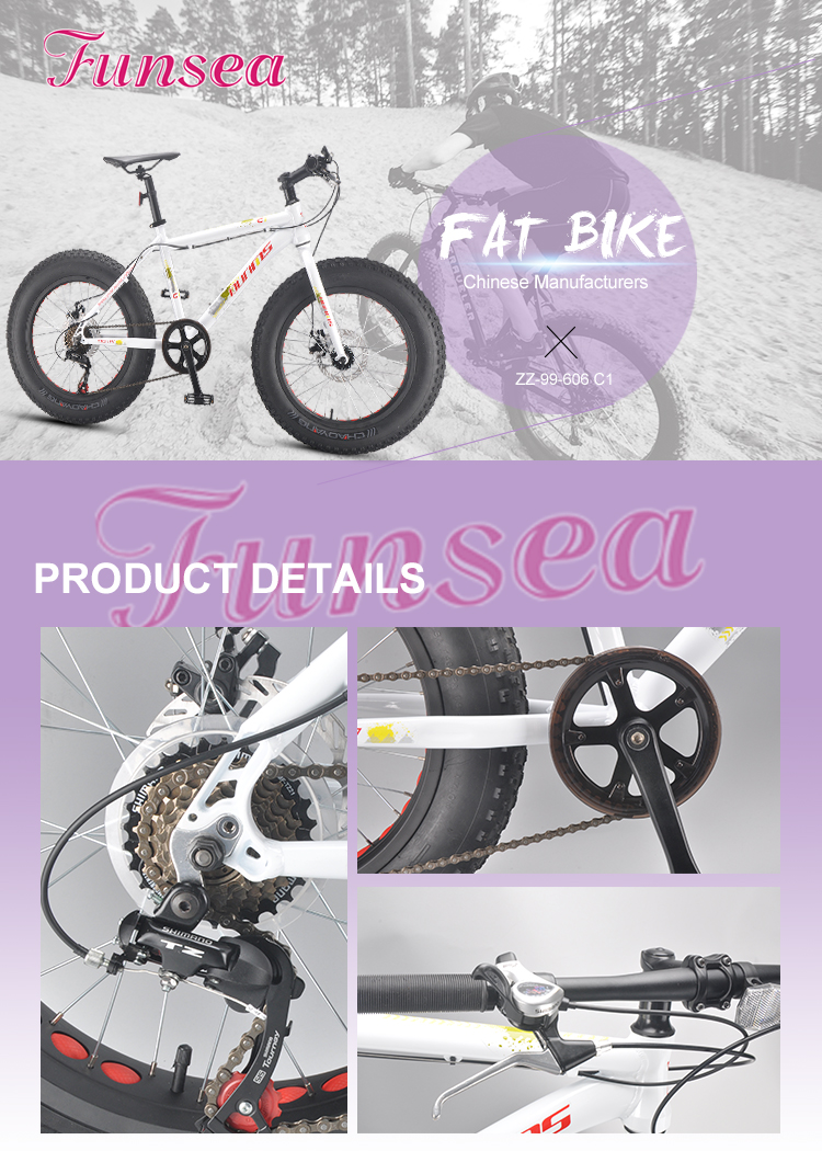 OEM ODM chinese supplier high quality outdoor sport fatbike big tyre snow bicycle bicicleta 20 inch fat bike beach cruiser bike