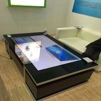 High quality 42 inch Interactive touch screen foil multi touch 40 touch points for Museums, Hotels,touch table