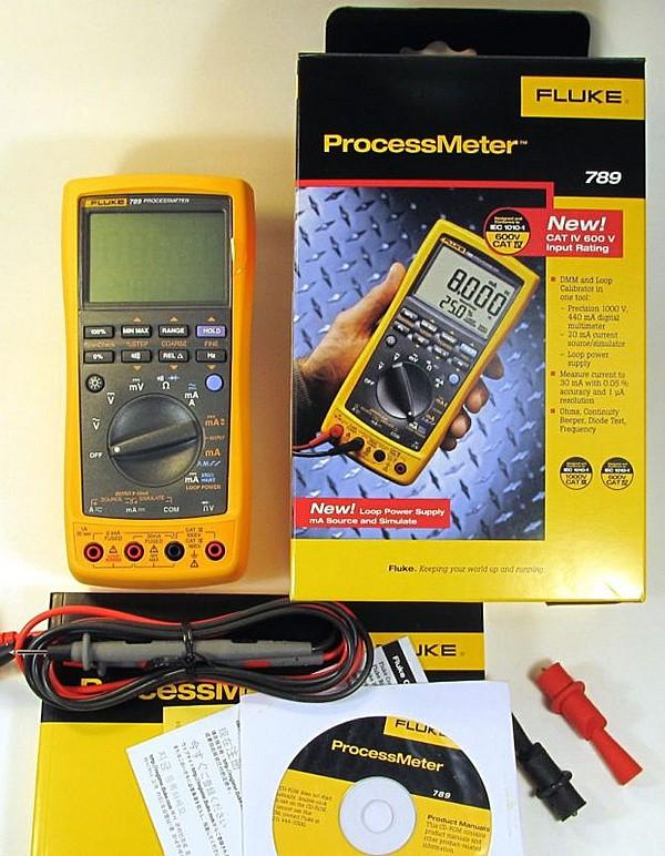 procese meter Fluke 789 Calibrator Process Meter FLUKE 4-20ma calibrator