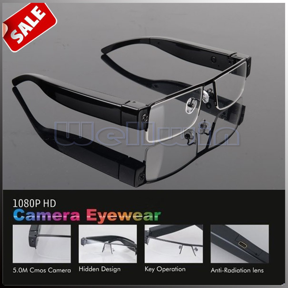 2015 Hot Consumer Electronic Product 1080p Wearable Electronics Glasses Camera