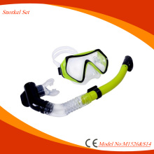 Wholesales Underwater equipment diving set with mask and snorkel