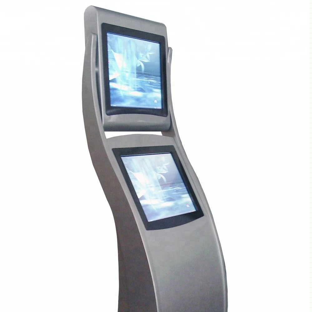 Free Standing <strong>payment</strong> computer kiosk, outdoor advertising LCD kiosk