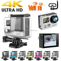 Dual Screen Ultra 4K HD Waterproof WiFi Sport Action Camera DV Recorder Cam