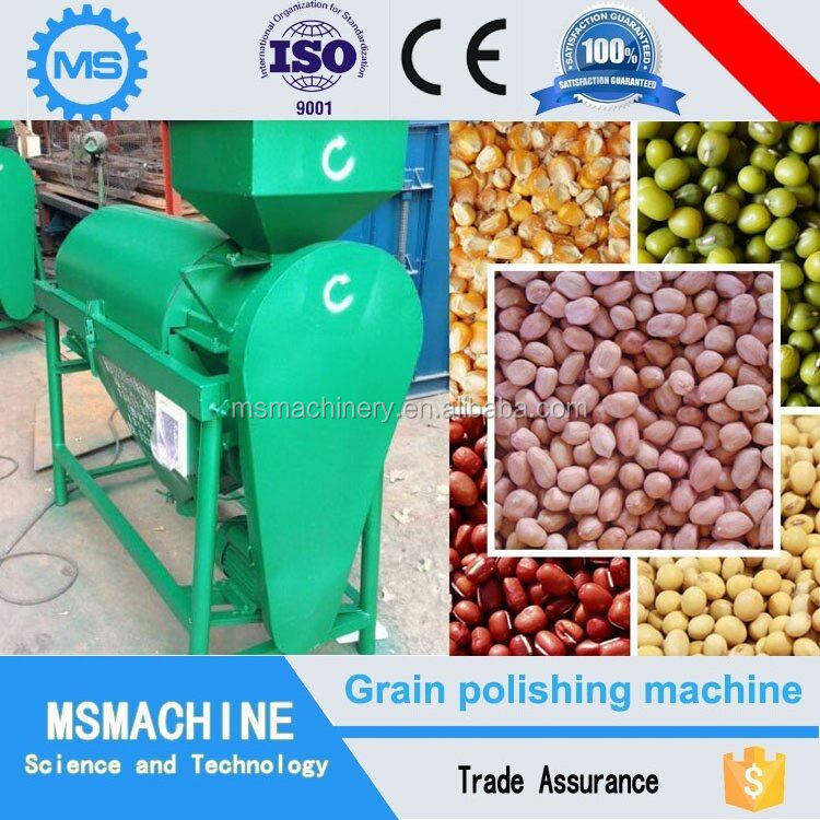 Whole sale small soybeans polishing and kernels machine