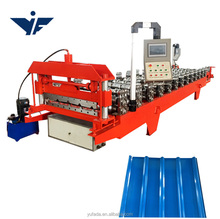 840 gallvanized corrugated roofing sheet making machine manual roof tile zinc making machine