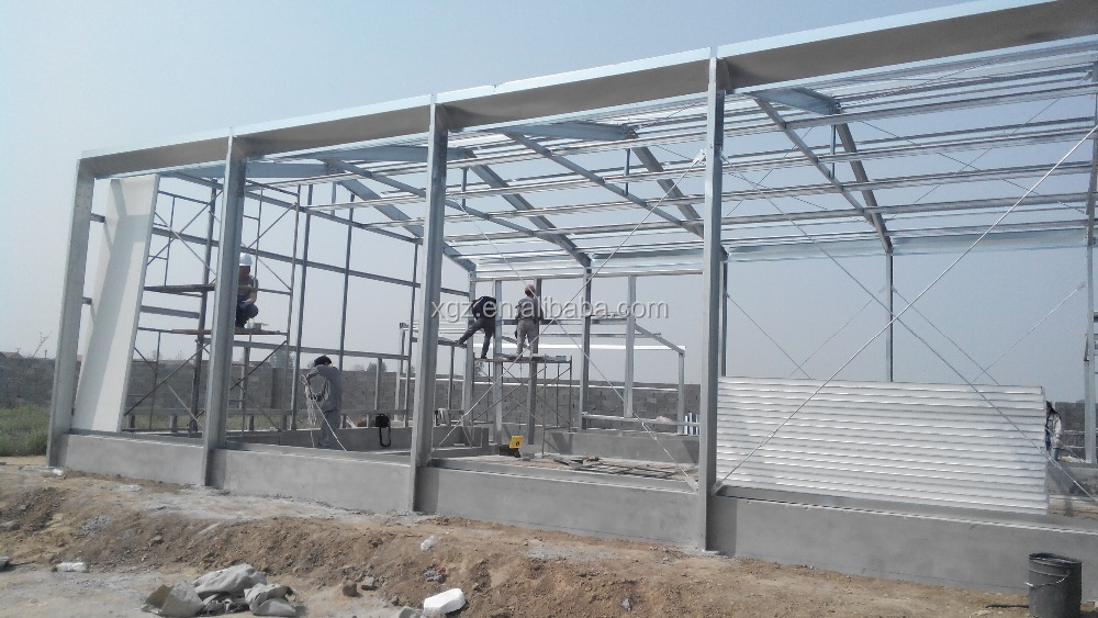 Steel Structure Prefab Chicken Farm Building And Automatic Controlled Poultry Farm Shed