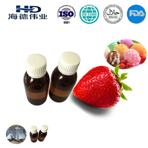 Food flavour HALAL strawberry flavor for beverage ,ice cream