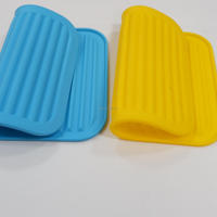 Dish Drying Silicon Mat , Kids Silicone Placemat , silicone hot pot mat