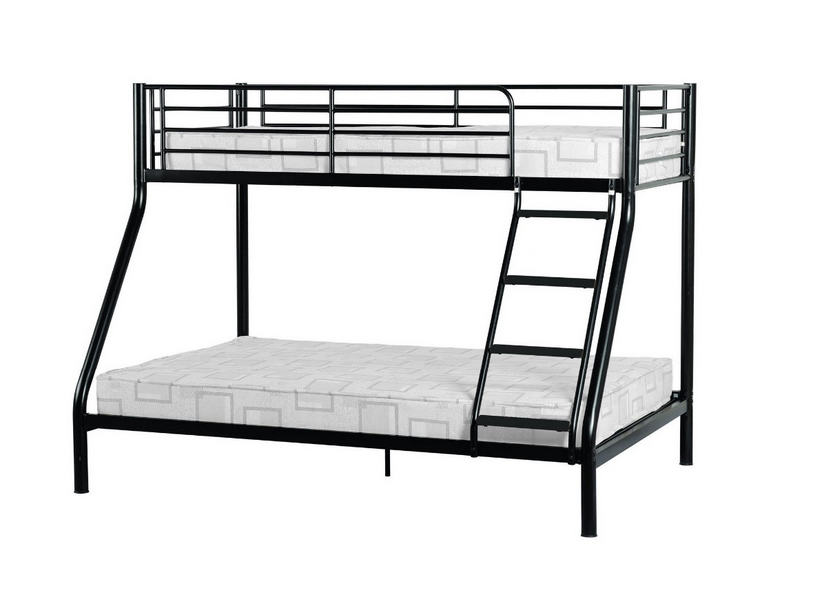 New Triple Sleeper Bunk Bed Metal Single Double Triple 3 Children S