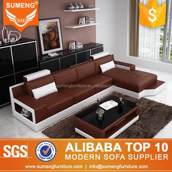 Sumeng Italy L Shape Full Grain Leather Sofa Buy Full Grain Rh Alibaba Com