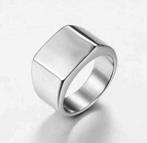 Fashion Simple 316 Stainless Steel Jewelry of Ring in 2018