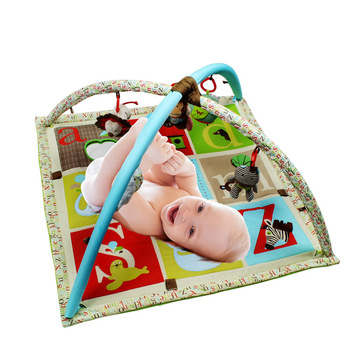 Baby crawl pad forest zoo toys blanket puzzle game play baby play mat