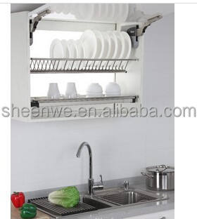 Merveilleux Wdj160 Guangzhou Kitchen Cabinet Stainless Steel Plate Rack With Dish  Drainer Tray   Buy Kitchen Cabinet Plate Rack,Stainless Steel Plate  Rack,Kitchen Plate ...