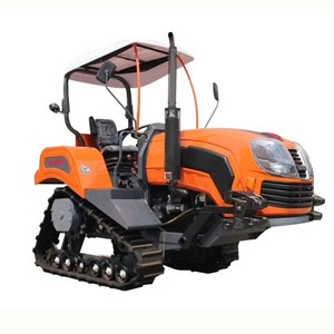 Factory direct cheap price farm farming rubber track farm 50hp 75hp small size mini crawler tractor for sale