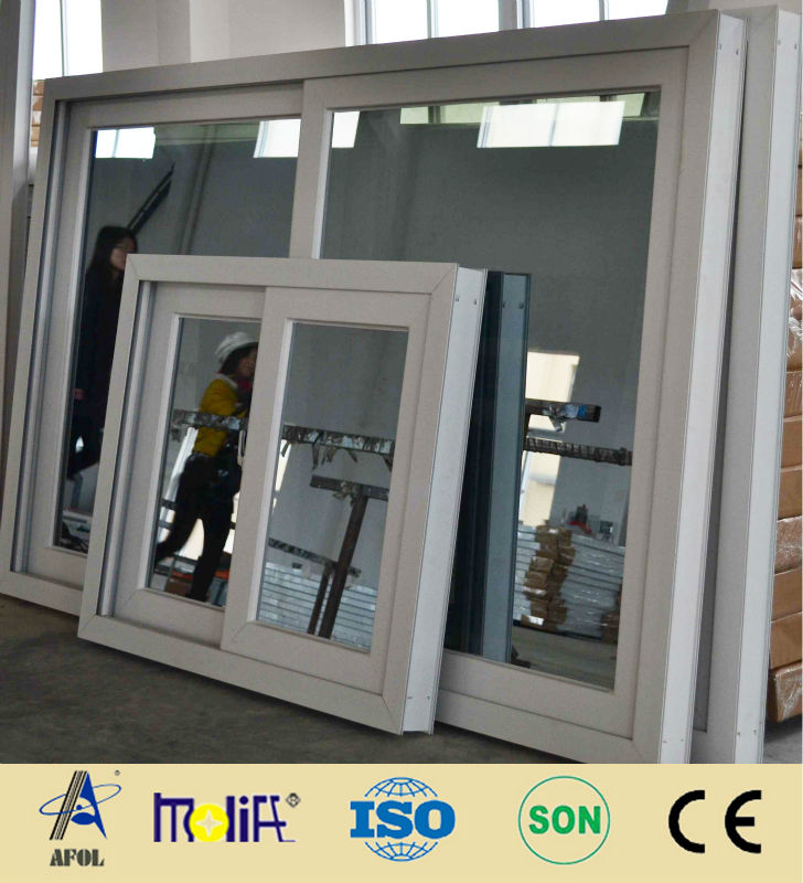 2013 new design pvc frame screen window