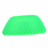 OEM Colour Gel Car Seat Cushion Round Non Slip Chair Pad for Office Truck Home Blue Green