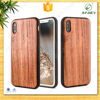 New high quality customize fashion cool metal TPU bamboo wood case for iphone 7 mobile phone for iphone 8 cover
